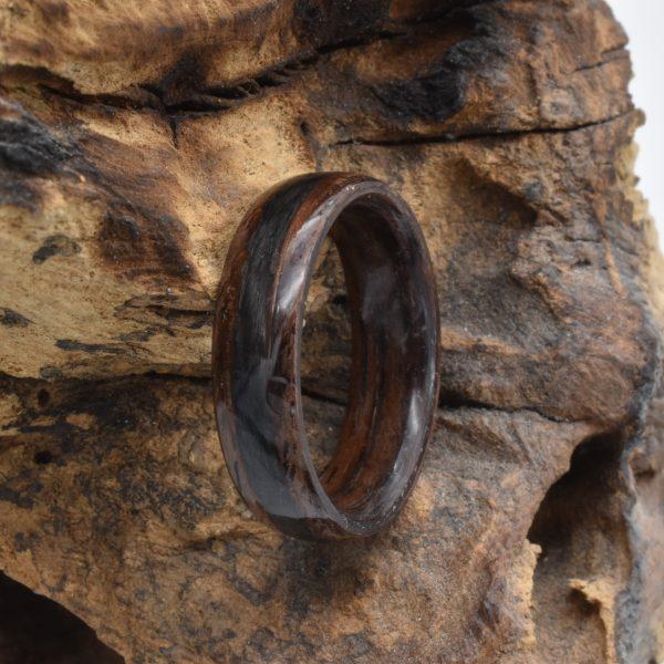 Bentwoodring Nussbaum Carbonfaserring