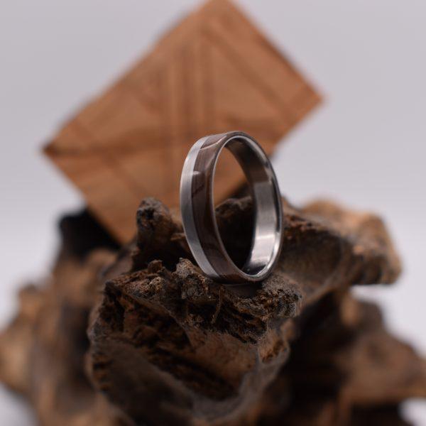 Verlobungsring Titan Nussbaum